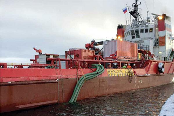 Fire Fighting Unit Ship Vessel