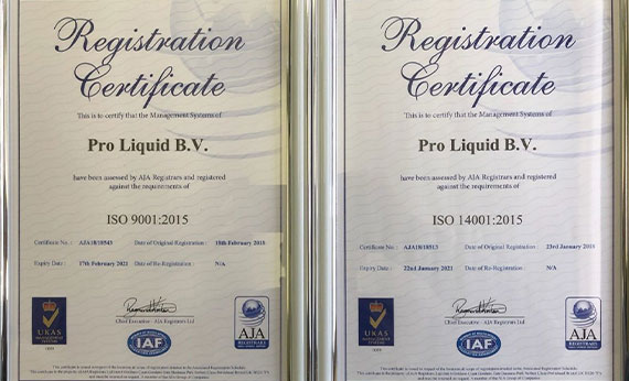 ISO 9001 and ISO 140001